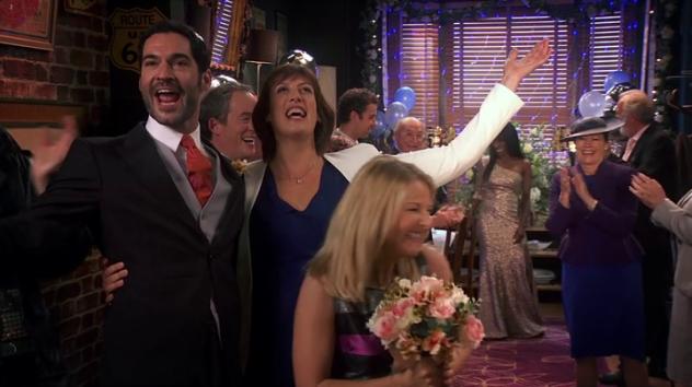 Miranda just married