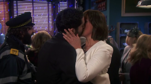 Miranda kiss party