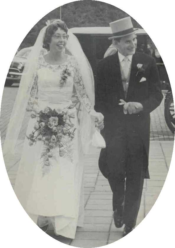 1960 Coos and Ellen wedding