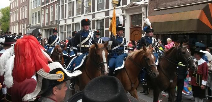 Prinsjesdag horse regiment