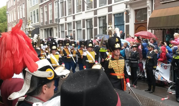 Prinsjesdag marching band