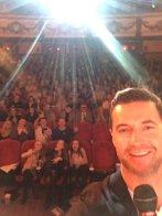 RA selfie Urban premiere Leeds