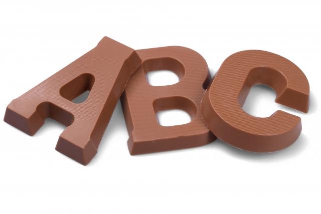 chocolade letters melk