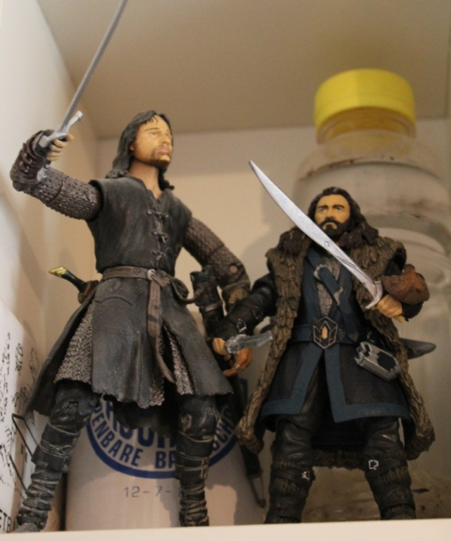 Aragorn and Thorin