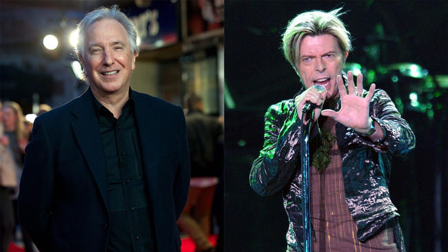 david-bowie-alan-rickman-chicago-tribune