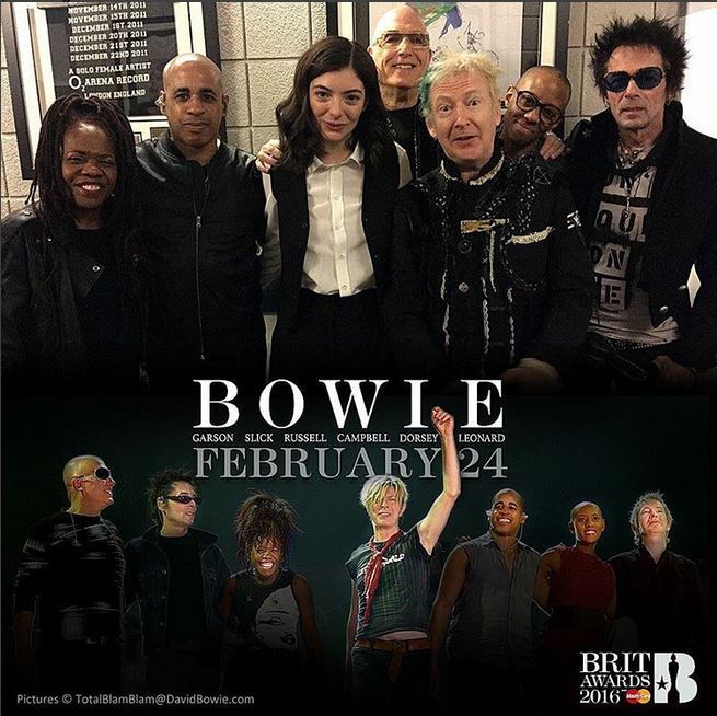 Bowie Band & Lorde