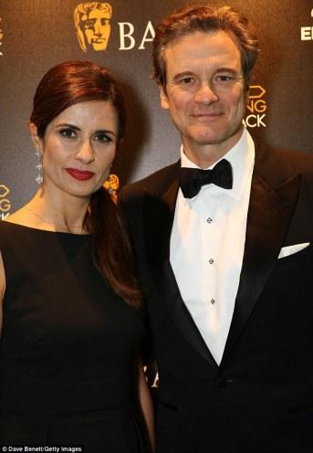 Colin & Livia Firth BAFTA 2016-2