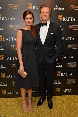 Colin & Livia Firth BAFTA 2016