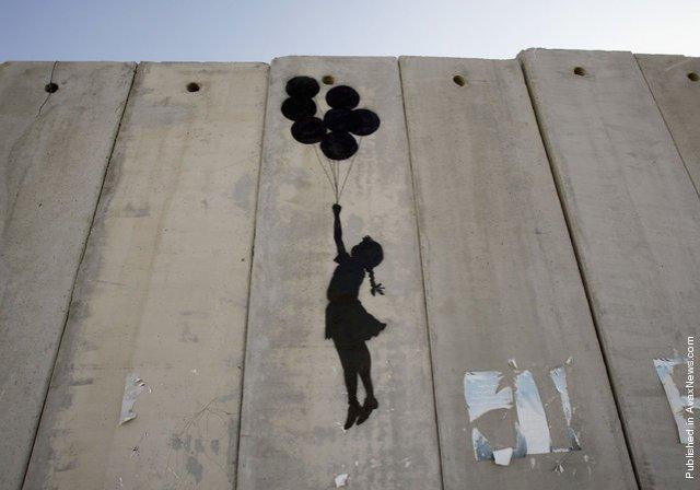 Banksy West Bank Wall 11
