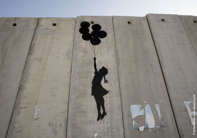 Banksy West Bank Wall 11