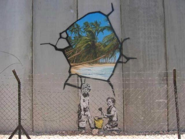 Banksy West Bank Wall 2