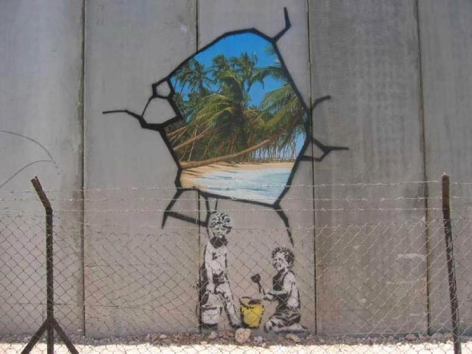 Banksy West Bank Wall 2