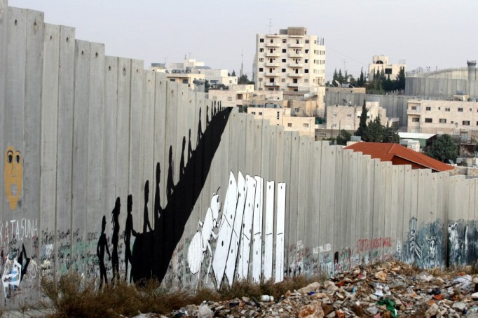 Banksy West Bank Wall 6