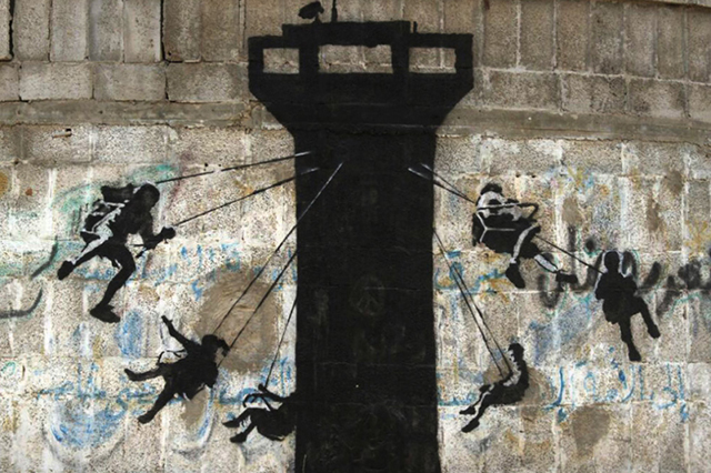 Banksy West Bank Wall 7