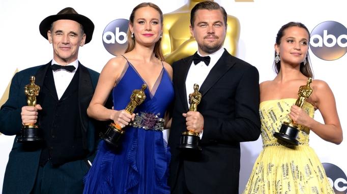 Oscar winners acting 2016