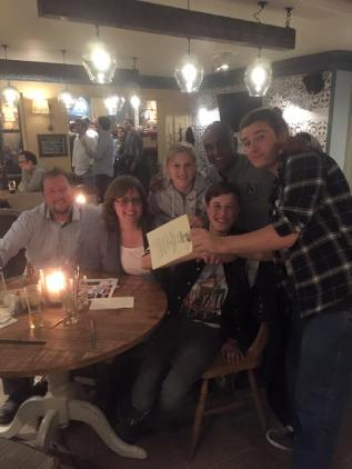 Pub quiz winners