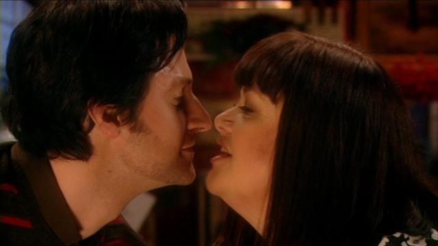 Harry & Geraldine nose to nose