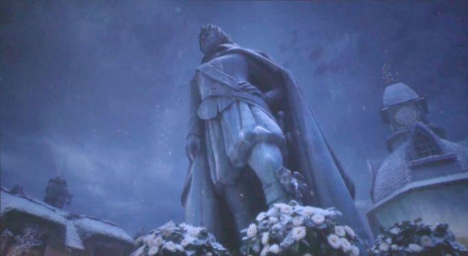 Kind Oleron statue