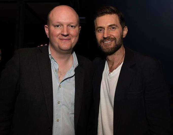 Wild theatre press night, Armitage and Mike Bartlett (writer)
