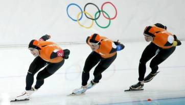 Dutch speed skating