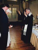 1999 Papa wedding Esther Marcel