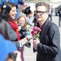 Colin flowers from fan 2017-03