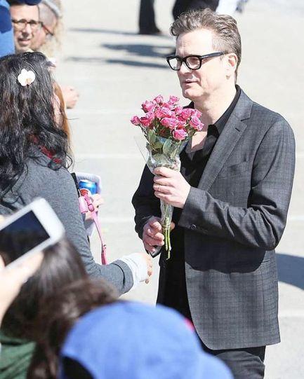 Colin flowers from fan 2017-04