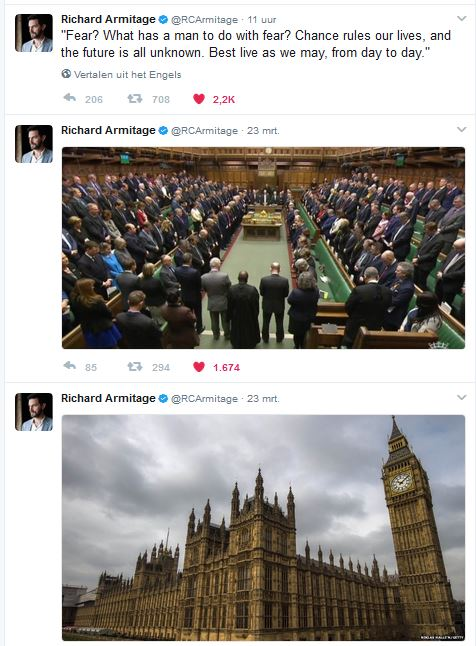 RA reaction to London attack tweets