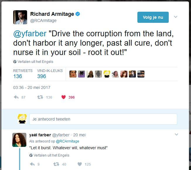 Armitage Farber tweets