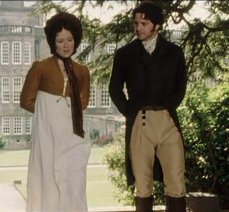 Darcy & Elizabeth Pemberley stroll