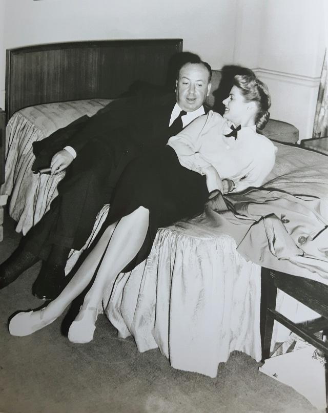 Ingrid Bergman 10 - Alfred Hitchcock