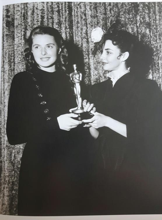 Ingrid Bergman 11 - Oscar - Jennifer Jones