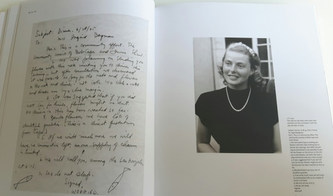 Ingrid Bergman 12 - letter Robert Capa