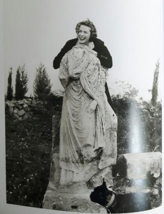 Ingrid Bergman 14 - Via Appia Statue