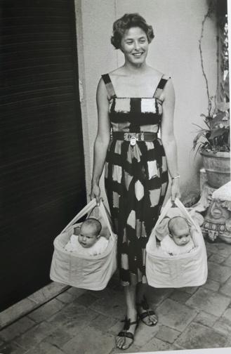 Ingrid Bergman 15 - twins