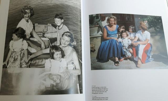 Ingrid Bergman 18 - with her four children