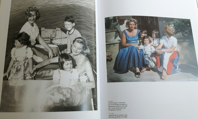 Ingrid Bergman 18 - with her four children