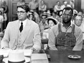 To Kill a Mockingbird (1962) Directed by Robert Mulligan Shown from left: Gregory Peck (as Atticus Finch), Brock Peters (as Tom Robinson)
