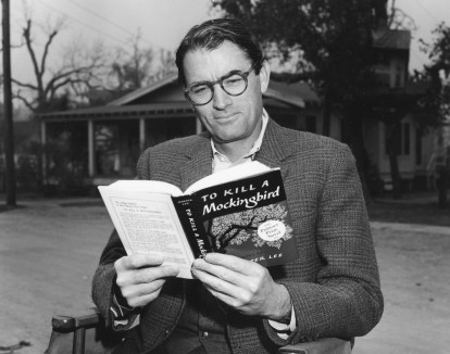 Peck reads Mockingbrid