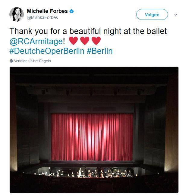 Ballet tweet