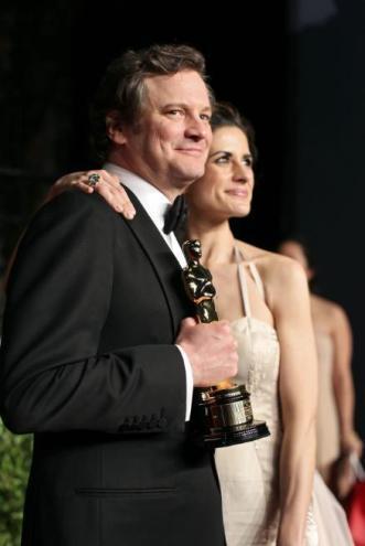 Colin & Livia Firth Oscars (1)