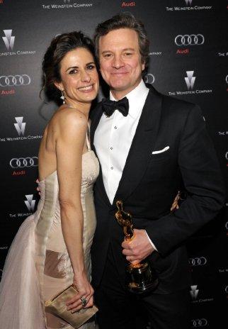 Colin & Livia Firth Oscars (2)