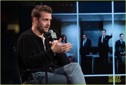 Gabriel Macht visits AOL Hq for Build on January 27, 2016 in New York. Photos by Noam Galai