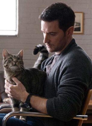 Daniel Miller with cat