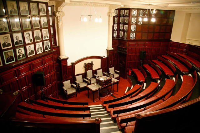 Mining Institute lecture hall