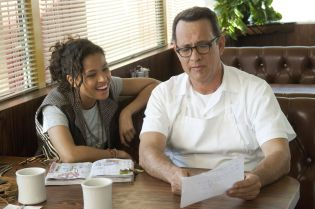 Gugu Mbatha-Raw Tom Hanks2