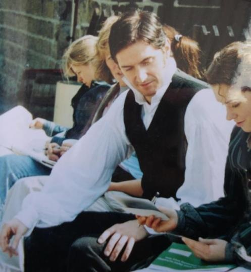 North & South behind scenes