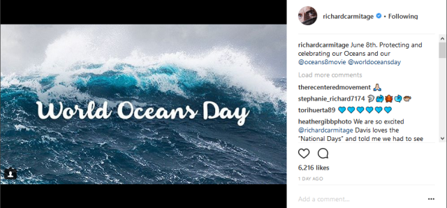 RA insta world ocean's day 7-6-2018