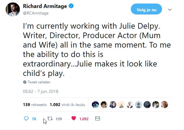 RA Julie Delpy 7-6-2018