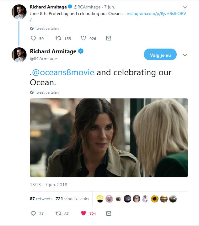 RA ocean's tweet 7-6-2018